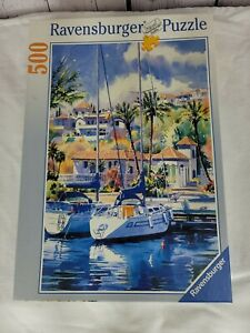 "Ravensburger ""sailing "" 1000 Piece Puzzle"
