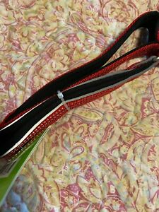 KONG red Padded reflective Handle Traffic leash