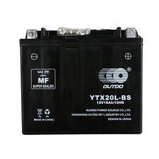 Motorcycle YTX20L Battery for Honda CBX1000 VF1100S GL1800 NRX1800 TX1800C F, N,