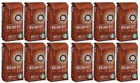 Starbucks Breakfast Blend Ground Medium Roast Coffee 12-Pack 1Lb Ea BEST BY 3/21