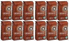 Starbucks Breakfast Blend Ground Medium Roast Coffee 12-Pack - 1Lb Each BBD 8/20