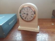 Wedgwood of Etruria & Barlaston clock with original box and Instructions.