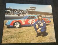 RICHARD PETTY SIGNED 8X10 PHOTO NASCAR DAYTONA 500 RACING HOFER LEGEND COA+PROOF