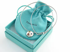 Tiffany & Co RARE Silver 18K Gold Etoile Gemstone Peridot Sapphire Necklace