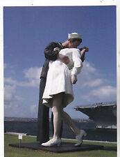 "*Postcard-""The Famous...Kiss Statue"" ....Classic-"