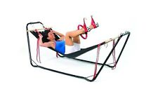 Chair/Bed Hammock Gym, Dvd's, Resistance Bands, Pilates, Yoga, Weight, Fitness