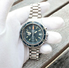 Omega Seamaster 176.004 Big Blue Vintage `71 Divers Automatic Chronograph Watch