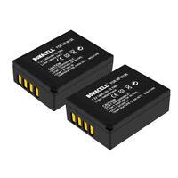2x NP-W126 Battery For Fujifilm NP-W126S X-E1 X-M1 X-A1 X-Pro1 X100F X-E3 X-T20