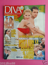 diva e donna n. 26 michelle hunziker pierre casiraghi marco borriello kate mara