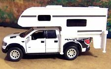 New  O Scale Ford F-150 SVT Raptor with Camper