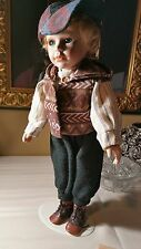 Porcelain Boy Doll By Duck House Heirloom Dolls