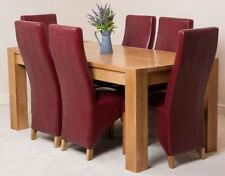 Kitchen Fixed Contemporary Table & Chair Sets 7 Pieces