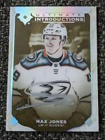 2019-20 Upper Deck Ultimate Collection Introductions Max Jones Rookie Auto 🔥🏒