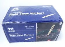 Royal ~ Medium Well ~ Wood Steak Markers ~ Package of 500 ~ Rp145Wd