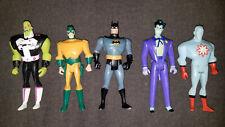 Lot of 5 DC Batman Justice League Super Heroes Villains Action Figures