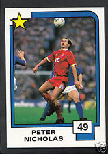 PANINI CALCIO CARD - 1988 SUPERSTARS CALCIO-N. 49-Peter Nicholas