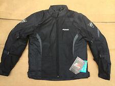 "RK SPORTS Mens Textile Motorbike / Motorcycle Jacket Size UK 38"" Chest (h71)"