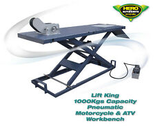1000Kgs Pneumatic Motorcycle Workbench / ATV Hoist / High Quality Service Lift