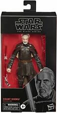 """Star Wars The Black Series Count Dooku Toy 6"""" Action Figure"""