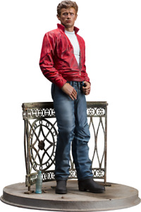 JAMES DEAN Rebel Without a Cause Old & Rare Infinite Statue Sideshow 1:6 Scale