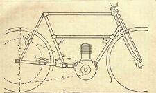 1906 Motor Bicycle Building by Paul N. Hasluck, Cycle, Motorcycle, Book on CD