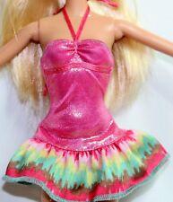 Barbie Sweet Treats Cafe Vestido de Moda Y7099