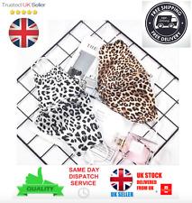 Face Mask Leopard Print Animal Snow Adult Girls Ladies Reusable Washable