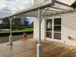 Victorian  Style Veranda Aluminium Glass Roof