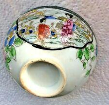 2 porcelain (finger?) bowls oriental pattern