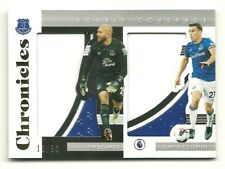 TIM HOWARD SEAMUS COLEMAN 2019-20 CHRONICLES DOUBLE COVERAGE PATCH EVERTON #/50