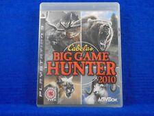 ps3 CABELA'S BIG GAME HUNTER 2010 NTSC Cabelas Hunting Playstation REGION FREE