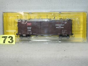 KADEE #4016 GREEN BAY & WESTERN 40' PS-1 STANDARD BOXCAR NEW