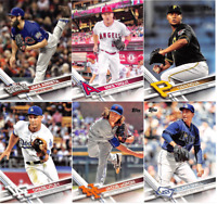 2017 Topps Baseball Series 1 - Base Set Cards - Pick From Card #'s 1-200