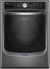 "Maytag 27"" Metallica Slate 11 Cycle Front Load Washer w/ Steam MHW8200FC"