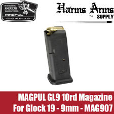 Magpul Glock Magazine 10rd for Glock 19 9mm 10rd Compliant G19 G26 MAG907 GL9