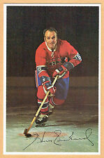1969-71 Canadiens (No Credit Line) Team Issued Postcard, Henri Richard, Gray Ice