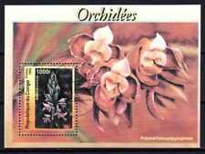 Fleurs - Orchidées Congo (117) bloc oblitéré