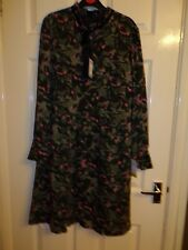 BNWT LADIES DESIGNER DANIEL HECHTER DRESS UK SIZE 12 RRP £150.00