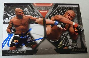 Quinton Rampage Jackson Signed UFC 114 2011 Topps Moment of Truth Collision Card