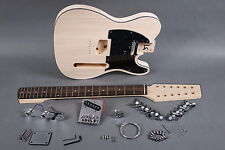 NEW 12 STRING TELE STYLE ELECTRIC GUITAR LUTHIER PROJECT BUILDER KIT