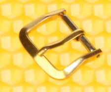 12,5mm Vintage OMEGA Solid 14K Yellow-Gold Buckle for Watch Strap Band <VGU>