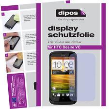 1x HTC Desire VC Schutzfolie klar Displayschutzfolie Folie unsichtbar Passgenau