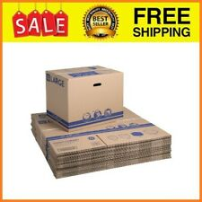 25 Count Large Recycled Moving And Storage Boxes 24l X 16w X 19h Kraft New
