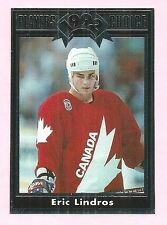 Eric Lindros Team Canada 1992 Cartwrights Players' Choice Rookie Card #16