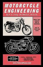 Motorcycle Engineering by P. E. Irving (2017, Paperback)