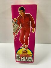 1975 Kenner Six Million Dollar Man Doll Action Figure Bionic Eye & Arm W/ Box