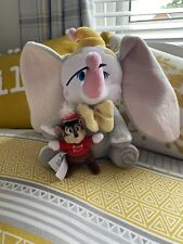 Disney Store Stamped Dumbo And Timothy Plush Soft Toy Elephant