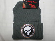 Harley Toms Punisher Xtreme Beanie Knit Hat Doo Rag Biker Skull Cap Head Wrap