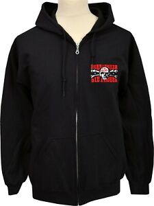 Authorised UK Subs HOODIE HOODY BORN A ROCKER PUNK  CHARLIE HARPER EMBROIDERED