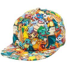 Pokemon Hat Cap Snapback Baseball All Over Sublimated Print – OFFICIAL UK SELLER